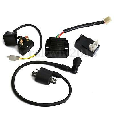 Ignition Coil CDI Regulator Rectifier Relay for Chinese ATV Quad 150 200 250 cc