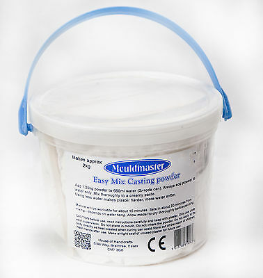 Plaster of Paris 5Kg Tub Mouldmaster