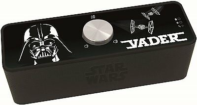 Star Wars Vader Rechargeable Bluetooth Speaker RRP £50 Lexi book Force Awakens