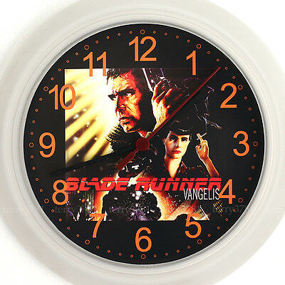 BLADERUNNER Wall Clock NEW - 24cm Vangelis Soundtrack Cd DVD Design Gift