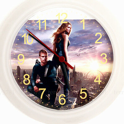DIVERGENT Wall Clock - New 24cm movie dvd Insurgent Trilogy Christmas Xmas
