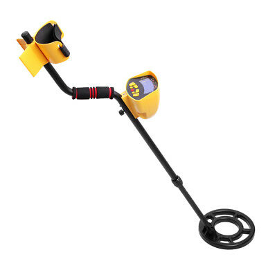 Deep Target Sensitive Searching Metal Detector w/ LED Readout Gold Prospecting