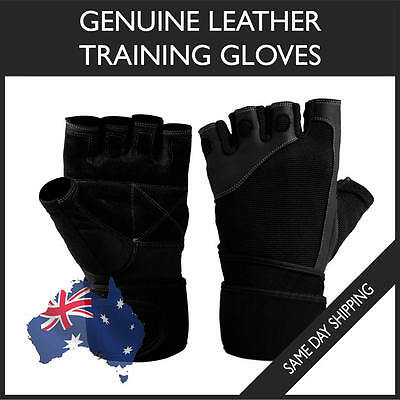 Gym Gloves Fitness Weight Lifting Wrist Wraps Workout Cycling Training Crossfit