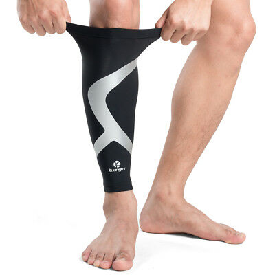 1 PC Kuangmi Calf Compression Sleeve Protector Leg Running Shin Splint Support
