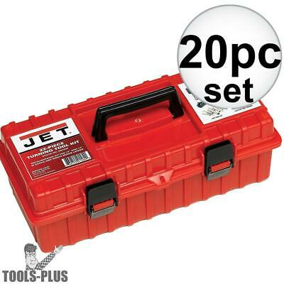 """JET 660200 22 Piece Turning Tool Kit for 13"""" and 14"""" Lathes New"""