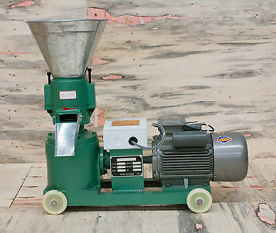 "Pellet Mill 9"" die 11KW (15hp) 220V 3phase motor, FREE SHIPPING"