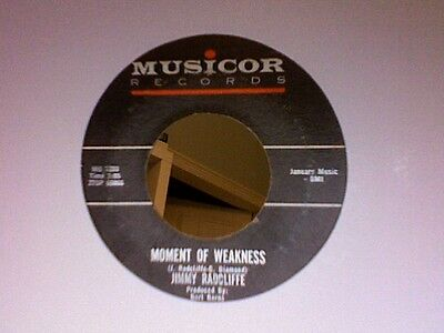 Jimmy Radcliffe-Moment Of Weakness -Musicor 1033