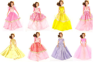 Fashion Princess Dresses Party Wedding Clothes Outfits Gown For Barbie Doll