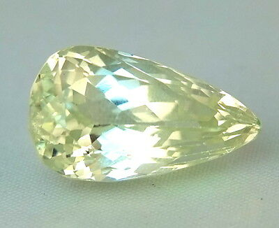 Top : Echter Hiddenit / Triphane 20,62 Ct VS2 Reinheit ( Yellow Kunzite )
