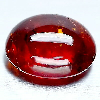 TOP SPESSARTITE : 17,41 Ct Natürlicher Mandarin Orange Rot Spessartin Granat