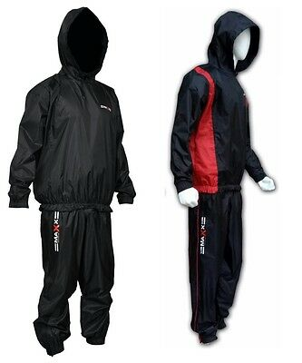 NEW Heavy Duty Sauna Sweat Track Suit Weight loss Slimming Boxing Gym Mma ufc b