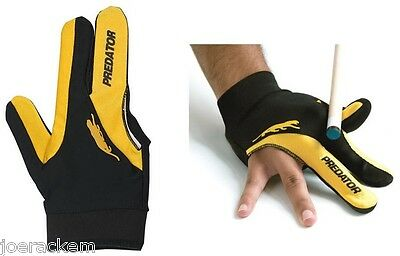New Predator RIGHT Hand Logo Pool Glove  L/XL One Size - Large / Ex large