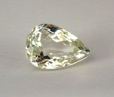 TOP HIDDENITE : 16,63 Ct Natürlicher Gelber Hiddenit ( Yellow Kunzite )