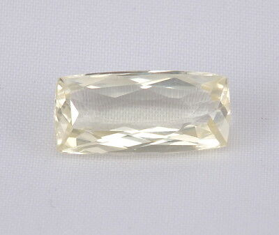 TOP HIDDENITE : 7,40 Ct Natürlicher Gelber Hiddenit ( Yellow Kunzite )