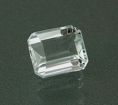 TOP : Echter Aquamarin 3,70 Ct VVS Reinheit aus Brasilien TOP LUSTER