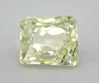 TOP HIDDENITE : 9,18 Ct Natürlicher Gelber Hiddenit ( Yellow Kunzite )