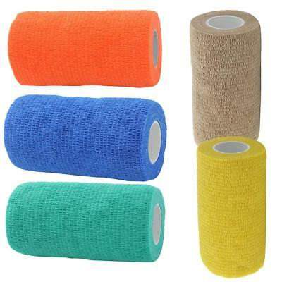 10cm Cohesive Bandage Self-Adherent Medical Tape First Aid Treatment Sports Care
