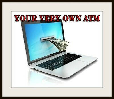 """""""create Your Own Virtual Atm"""" - Online Business Opportunity"""