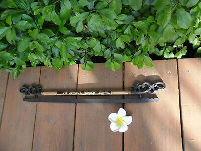 Balinese Hand Crafted  bamboo hanger/tapestry hanger 50cm