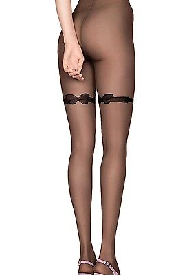 a23130819 Sexy Sheer Patterned Tights 20 Denier Pantyhose 2 Colours Hosiery Secret  Fiore