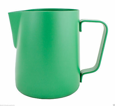 Rhinowares Stealth Milk Pitcher Green 360ml / 12oz