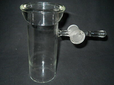 Unbranded Custom Glass #40 O-Ring Threaded Drying Chamber Vessel w/ Stopcock