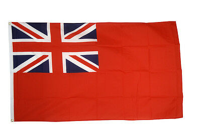 5' x 3' FLAG Red Ensign British Merchant Navy royal Flags New