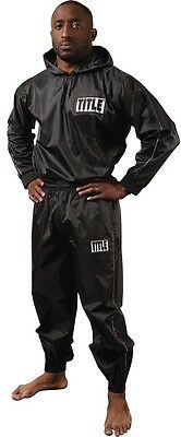 Title Boxing Pro Hooded Sauna Suit