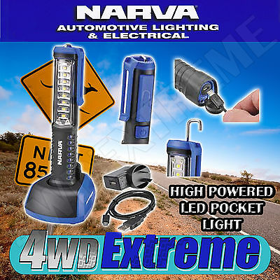 Narva High Quality High Powered Pocket Led Light Torch Lamp Camping 4Wd 71301
