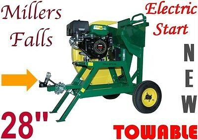 Log Saw for firewood cutting Towable electric start 28'' blade = Branded Item ++