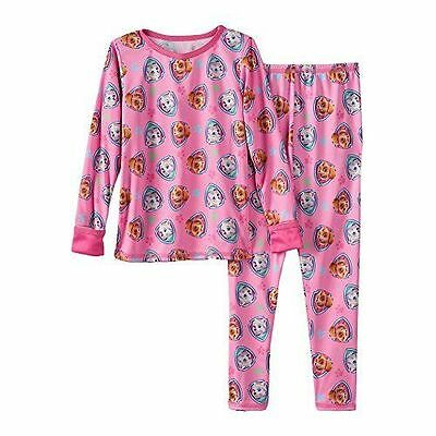 Cuddl Duds Girls' Toddler 2 Piece Set Long Underwear/ Thermal - New w/ Tags!!