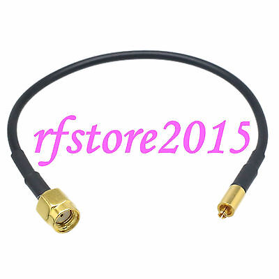 Cable RG174 6inch Mc-Card male plug to RP-SMA male jack RF Pigtail Jumper