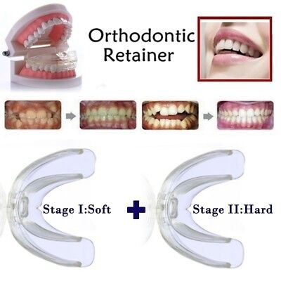For Teens &Adults Straight Teeth System Orthodontic Retainer Phase II Teeth Care