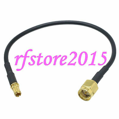 Cable RG174 6inch SMA male plug to TS9 male plug gold RF Pigtail Jumper