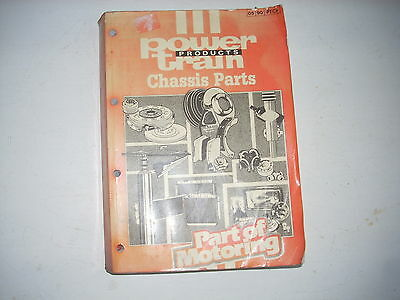 POWERTRAIN Chassis Parts catalogue Brake Clutch Steering Suspension Wipers DANA