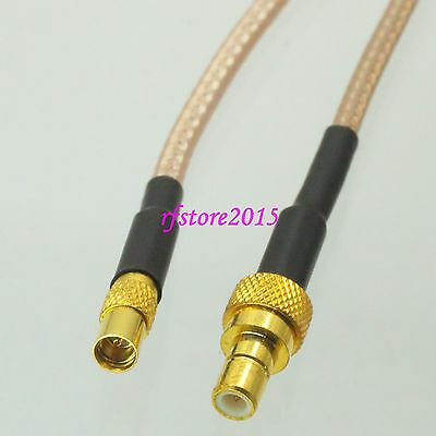 Cable RG316 6inch MMCX female jack to SMB male plug Straight RF Pigtail Jumper