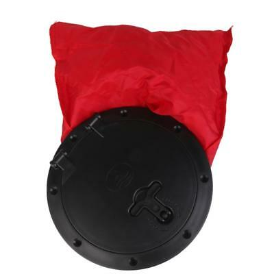 """Marine Hatch Cover Pull out Deck Plate with Bag for Boat Kayak Round 6"""""""