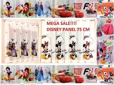 75 Cm Wide Disney panel Mega Sale!! 48 Designs to choose Drop 114,122,137,150 cm