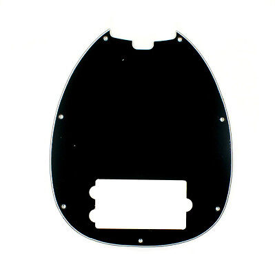 Replacement Ernie Ball OLP Bass Style Pickguard ,3ply Black