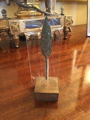 Ancient Patina Bronze Arrow