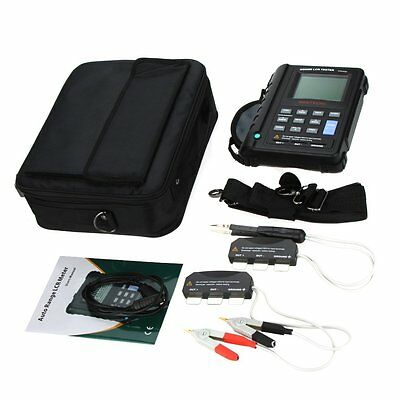 MASTECH MS5308 100KHZ Auto Ranging Digital LCR Meter W/Serial & Parallel Test