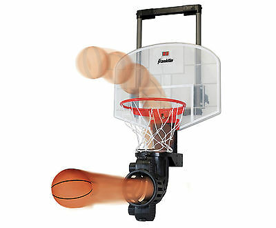 Over-the-Door Sports Electronic Basketball Net & Automatic Ball Feeder Games Toy