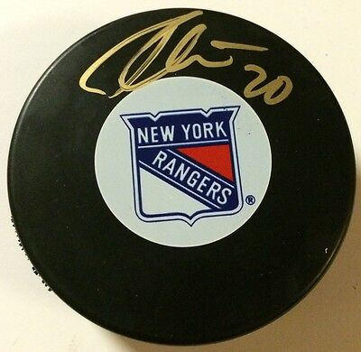 Matt Gilroy Autographed New York Rangers Hockey Puck Nhl Pucks Autographs-original