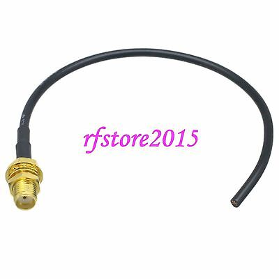 Cable RG174 SMA female bulkhead straight RF Pigtail Jumper
