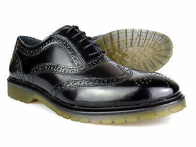 Red Tape Colworth Charol Negro Hombre Formal Zapatos Oxford
