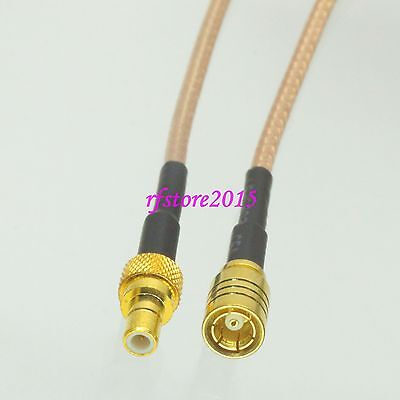 Cable RG316 SMB female jack to SMB male plug Straight RF Pigtail Jumper