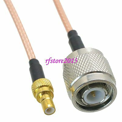 Cable RG316 TNC male plug to SMB male plug Straight RF Pigtail Jumper