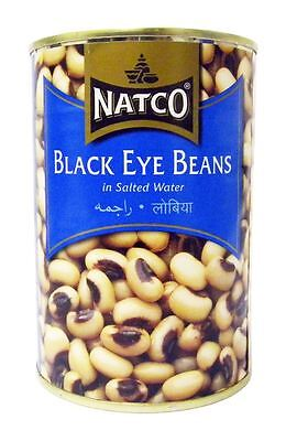 Natco - Black Eye Beans - 400g (pack of 4)