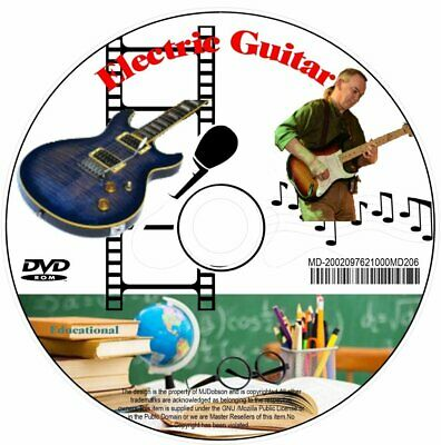 Learn Electric Guitar Video Tutorials For Beginners(Md206)