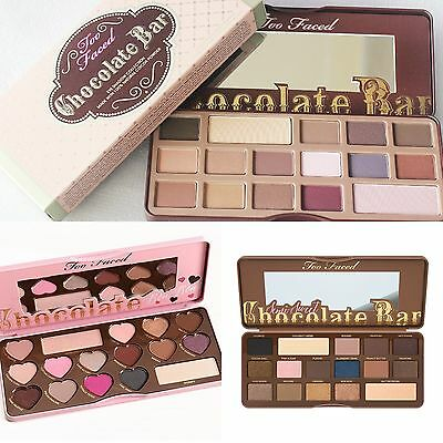 Too Faced Chocolate Bar+BON BONS+Semi Sweet Eyeshadow Makeup Collection Palette